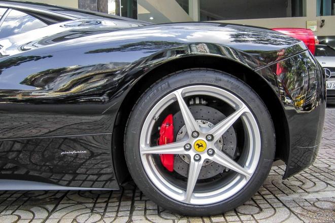 Sieu xe Ferrari 458 Italia bien so dep o Sai Gon hinh anh 8