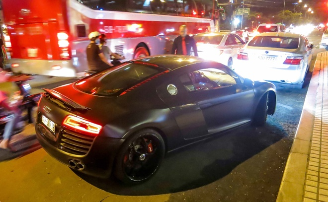 Audi R8 do den LED doc dao o Sai Gon hinh anh 10
