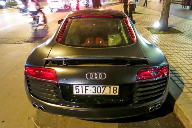 Audi R8 do den LED doc dao o Sai Gon hinh anh 5