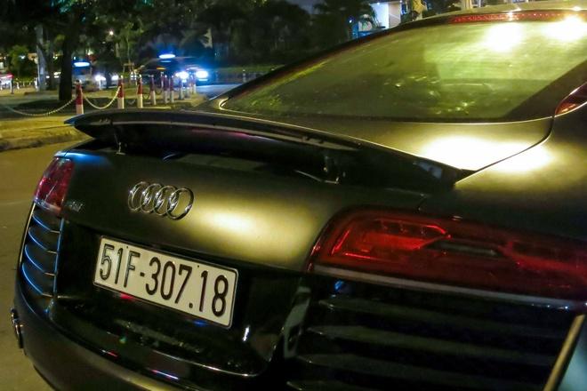 Audi R8 do den LED doc dao o Sai Gon hinh anh 7