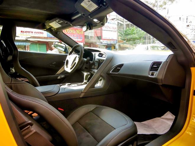 Chi tiet sieu xe Chevrolet Corvette Z06 thu 2 tai Sai Gon hinh anh 11
