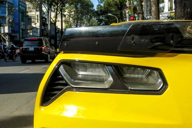 Chi tiet sieu xe Chevrolet Corvette Z06 thu 2 tai Sai Gon hinh anh 9