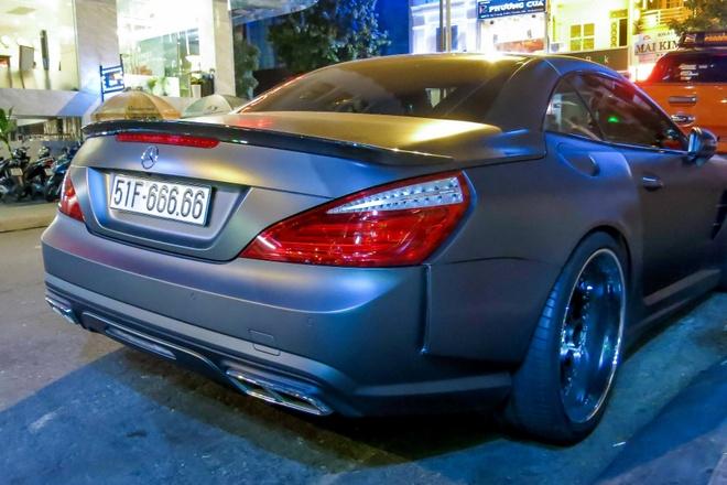 Mercedes SL bien ngu quy 6 o Sai Gon hinh anh 6
