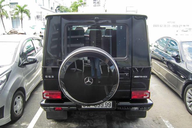 Mercedes G63 gia tren 7 ty, bien dep o Sai Gon hinh anh 4