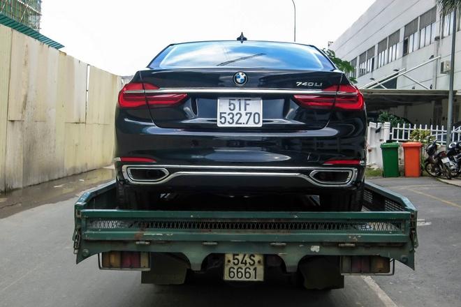 BMW 740Li doi moi dau tien ra bien so tai Viet Nam hinh anh 4