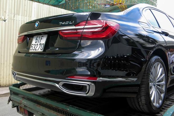BMW 740Li doi moi dau tien ra bien so tai Viet Nam hinh anh 5