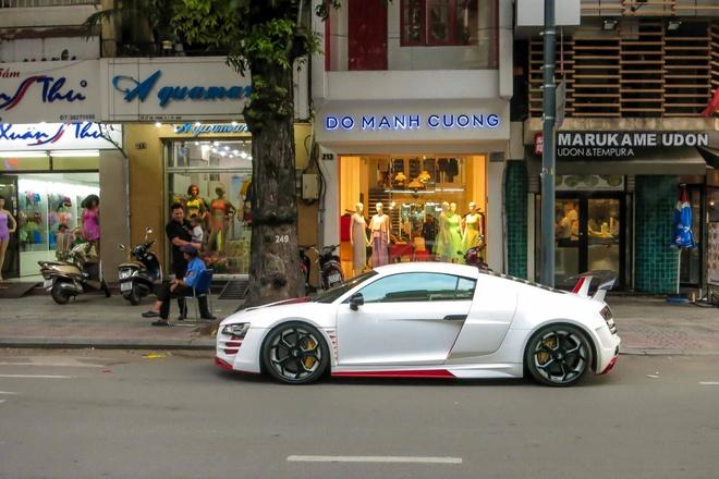 Sieu xe Audi R8 do mau doc o Sai Gon hinh anh 1