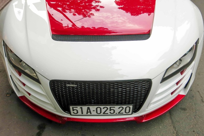 Sieu xe Audi R8 do mau doc o Sai Gon hinh anh 4