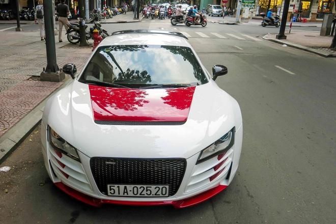 Sieu xe Audi R8 do mau doc o Sai Gon hinh anh 5