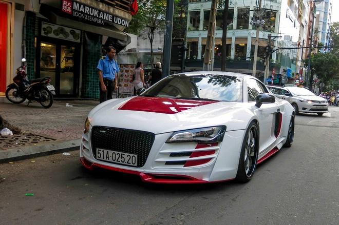Sieu xe Audi R8 do mau doc o Sai Gon hinh anh 6