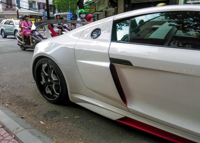 Sieu xe Audi R8 do mau doc o Sai Gon hinh anh 7