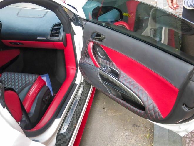 Sieu xe Audi R8 do mau doc o Sai Gon hinh anh 10