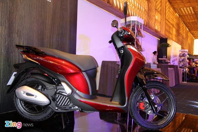 ảnh Thực Tế Honda Sh Mode Màu Mới Vừa Ra Mắt Tại Việt Nam
