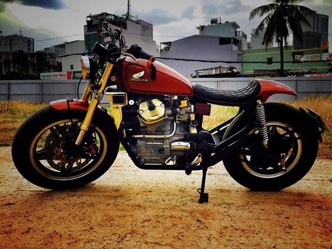 Xe do cuc chat cua nu biker 8X Hai Phong hinh anh