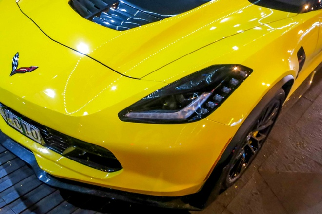 Sieu xe Corvette Z06 thu hai tai Viet Nam ra bien so trang hinh anh 2