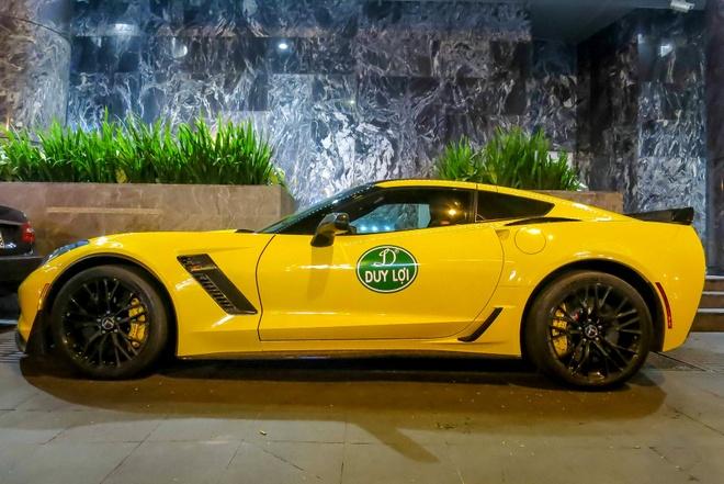 Sieu xe Corvette Z06 thu hai tai Viet Nam ra bien so trang hinh anh 3