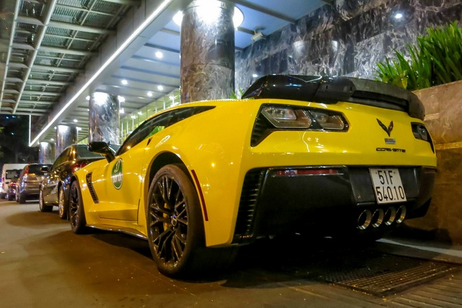 Sieu xe Corvette Z06 thu hai tai Viet Nam ra bien so trang hinh anh 4