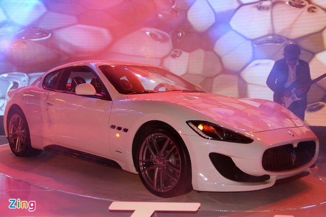 Chi tiet Maserati GranTurismo Sport chinh hang dau tien hinh anh 1