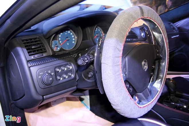 Chi tiet Maserati GranTurismo Sport chinh hang dau tien hinh anh 12