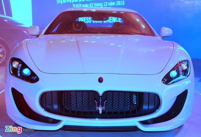 Chi tiet Maserati GranTurismo Sport chinh hang dau tien hinh anh 2