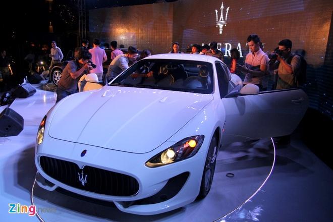 Chi tiet Maserati GranTurismo Sport chinh hang dau tien hinh anh 3