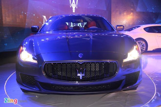 Maserati chinh thuc vao Viet Nam hinh anh 2