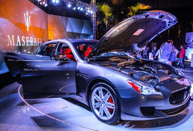 Maserati Quattroporte - doi thu cua S-Class tai Viet Nam hinh anh