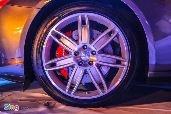 Maserati Quattroporte - doi thu cua S-Class tai Viet Nam hinh anh 10