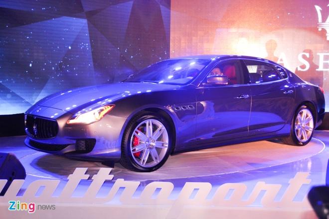 Maserati Quattroporte - doi thu cua S-Class tai Viet Nam hinh anh 11