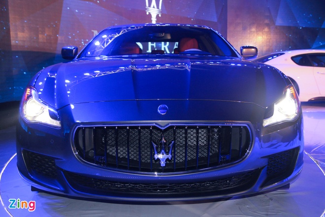 Maserati Quattroporte - doi thu cua S-Class tai Viet Nam hinh anh 2