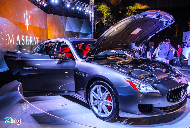 Maserati Quattroporte - doi thu cua S-Class tai Viet Nam hinh anh 4