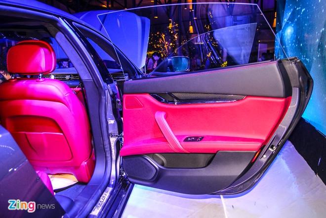 Maserati Quattroporte - doi thu cua S-Class tai Viet Nam hinh anh 6