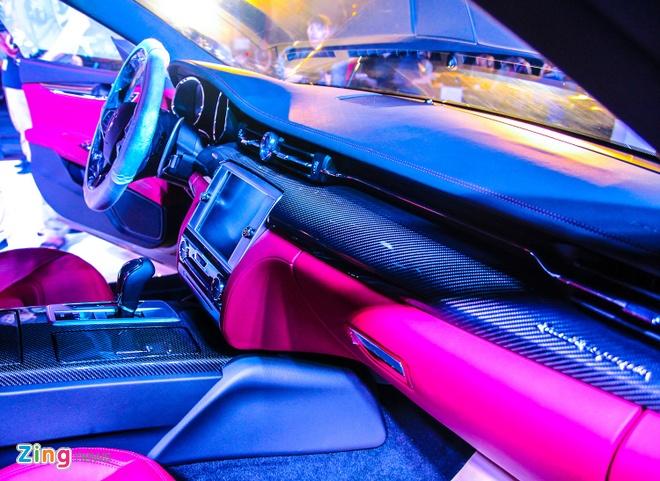 Maserati Quattroporte - doi thu cua S-Class tai Viet Nam hinh anh 7