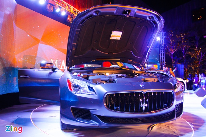 Maserati Quattroporte - doi thu cua S-Class tai Viet Nam hinh anh 8