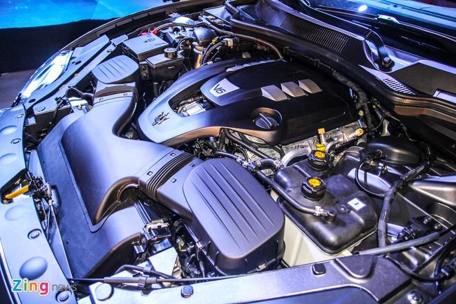 Maserati Quattroporte - doi thu cua S-Class tai Viet Nam hinh anh 9