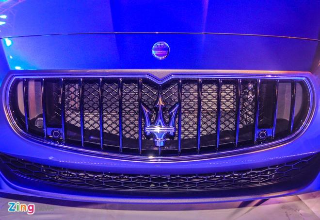 Maserati Quattroporte - doi thu cua S-Class tai Viet Nam hinh anh 3