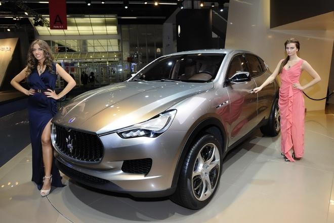 SUV Maserati Levante se co gia thap hinh anh 1