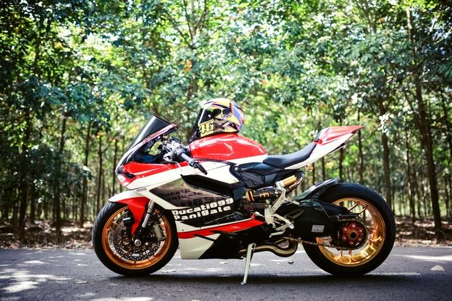 Ducati 899 Panigale voi mam ma vang cua biker Dong Nai hinh anh 6