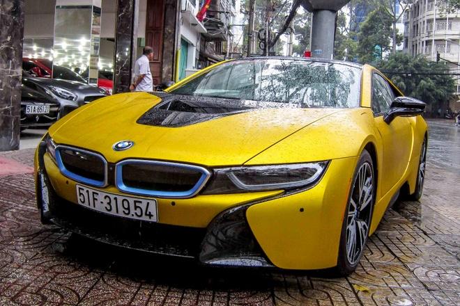 5 chiec BMW i8 mau doc tai Viet Nam hinh anh
