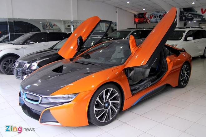 5 chiec BMW i8 mau doc tai Viet Nam hinh anh 4