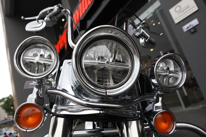 Harley Road King Classic gia hon 1 ty dong tai Viet Nam hinh anh 6