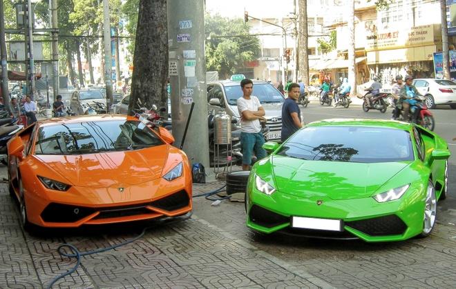 Sieu xe Lamborghini Huracan thu 7 ve Viet Nam hinh anh