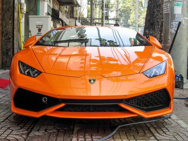 Sieu xe Lamborghini Huracan thu 7 ve Viet Nam hinh anh 2