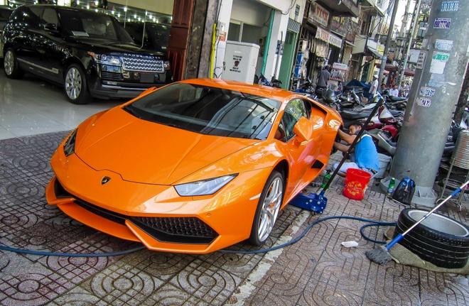 Sieu xe Lamborghini Huracan thu 7 ve Viet Nam hinh anh 3