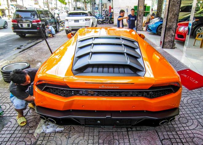 Sieu xe Lamborghini Huracan thu 7 ve Viet Nam hinh anh 4