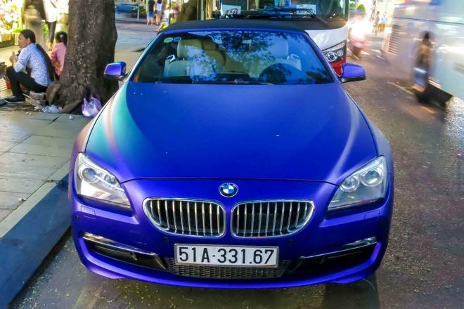 BMW 6-series cua thieu gia Phan Thanh doi mau son hinh anh 3