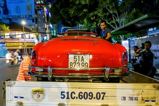 Xe doc trong MV Son Tung MT-P xuat hien o Sai Gon hinh anh 3