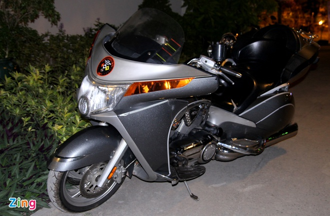 1.000 biker hoi tu o Sai Gon khoe xe Harley doc hinh anh 18