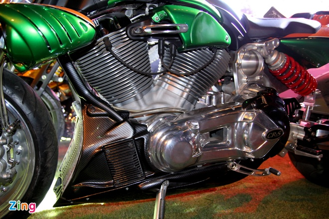 1.000 biker hoi tu o Sai Gon khoe xe Harley doc hinh anh 8