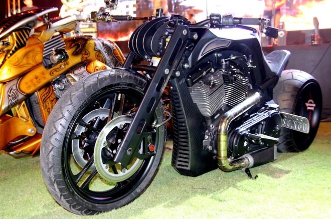 Sieu moto doc nhat the gioi cua biker Sai Gon hinh anh